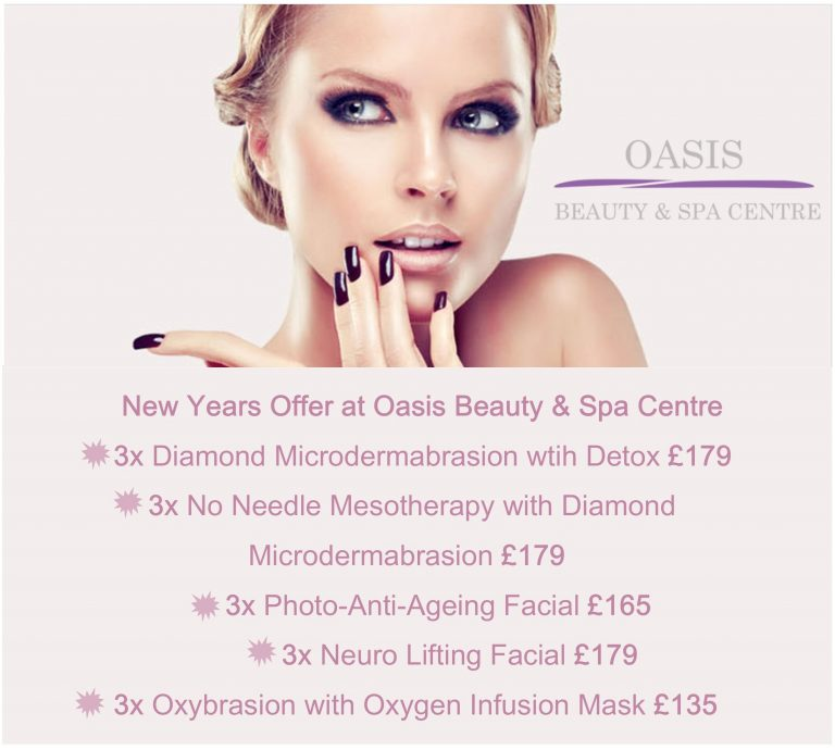 oasis beauty salon rugby offer
